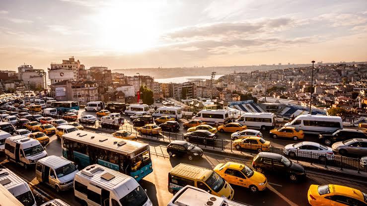 traffic jam in Istanbul